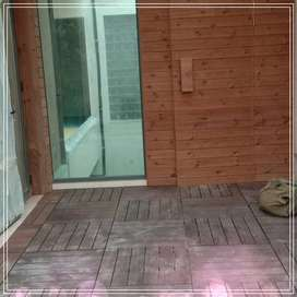 JASA Flooring KAYU SOLID/LANTAI KAYU GORONTALO # TERIMA PEMASANGAN PAS
