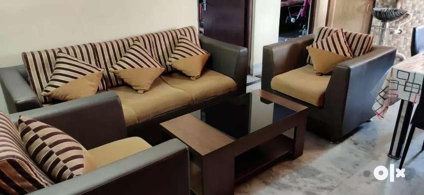 Hometown Lifestyle 3+1+1 Beige Sofa Set 0