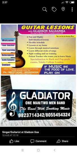 Guitar classes in ponda