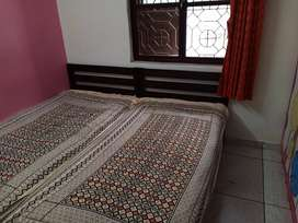 Two single Bed with New brand mattress