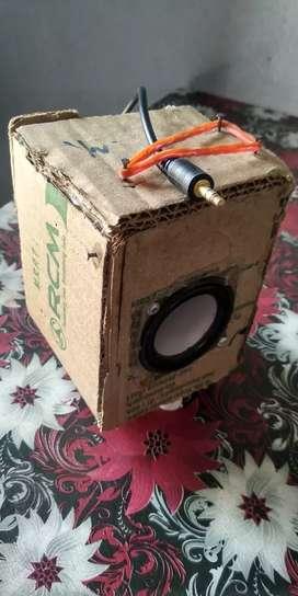 Handmade  speaker. (Hi quality HD audio)