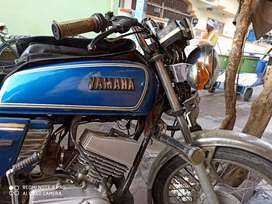 Yamaha RX100 2002 bike remodeling with all new parts