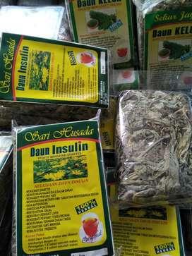 Teah herbal daun insulin sari husada