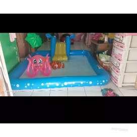 Jual perosotan dan kolam renang anak-anak baru