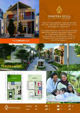Villa Trawas 2 lantai Harga Murah