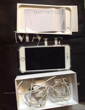iphone 6 ibox 32 malee gold baik