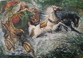 Lukisan NYI RORO KIDUL KERETA KENCANA