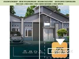 Posisi Hook Rumah Dijual di Malang Tipe 25/107 View Katu Free Biaya