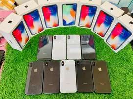 IPhone X - 64 nd 256 gb both available - full kit -