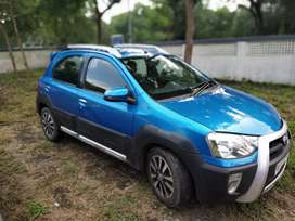 Toyota Etios cross 2014 VD top model with ABS and Dual Airbags