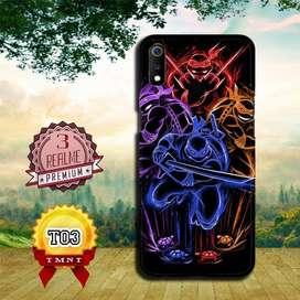 Dijual custom case 3D HP REALME 3 motif Kura-kura Ninja