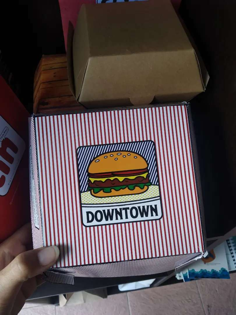 Packaging, box custom 0