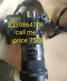 Nikon camera sall 7000D