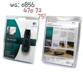 Pointer Laser Logitech Wireless R400 Red