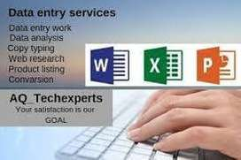 Work from Home Urgent requirement of 100 data entry operators.