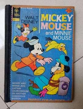 Satu bundel Majalah Mickey Mouse jadul 1974