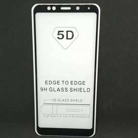 BEST SELLER !! Tempered Glass Full 5D Samsung Iphone Xiaomi Oppo Vivo
