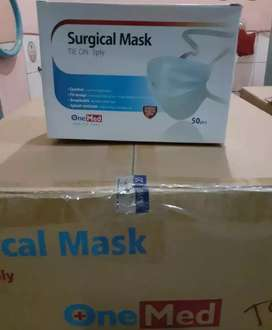 Masker onemed surgical 3 ply