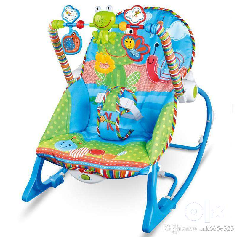 Baby Rocking Chair Musical Electric Swing Chair High Quality Vibrating 0