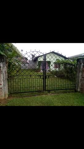 1.5 kotha land with A/T house