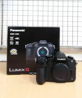 Panasonic Lumix DMC-G85 Body Only New Cicil Dp 10%