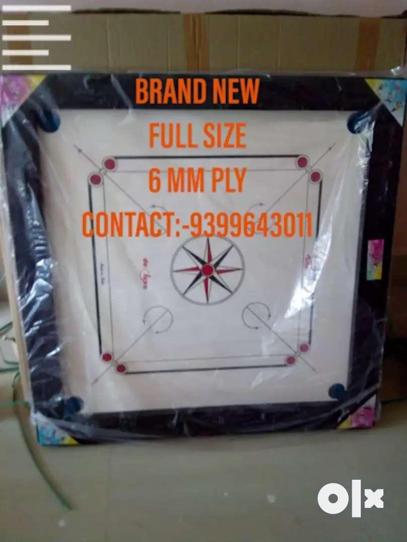 New Carrom Board Full Size 6mm