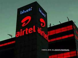 13000[Fix]in Airtel 4G[Salman HR]/Back Office/Data Entry/Helpline exe