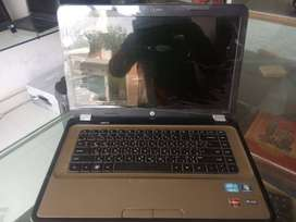 Hp G6 golden color A++ condition.4 gb ram,500 gb hdd, 15.6 screen