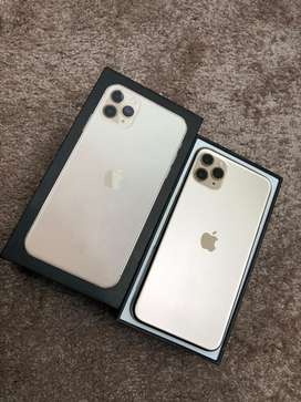 Iphone 11 pro max 256gb box pulled condition.