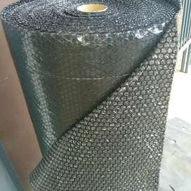 Bublle wrap Hitam / bubble pack / gelembung buble 1,25x50mtr Bandung