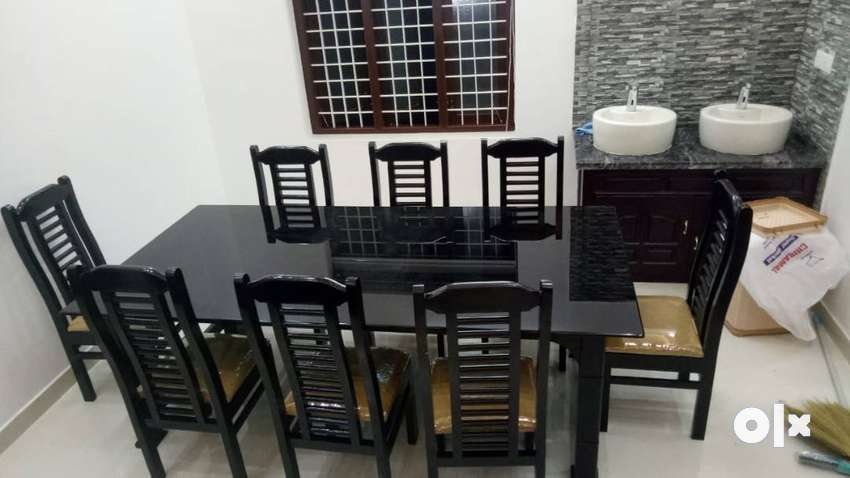 NEW QUALITY 6 SEATER WOODEN DINING TABLE SETS ON SALE. CALL NOW . 0