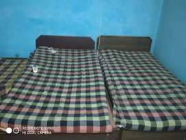 1+1 furnished room with separate bedroom & drawing room,