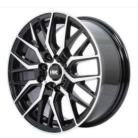 Kredit velg r15 pcd 8x100-114 utk Nissan March Proton avanza new brio