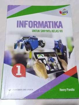 Buku Informatika Kls VII SMP (Erlangga)