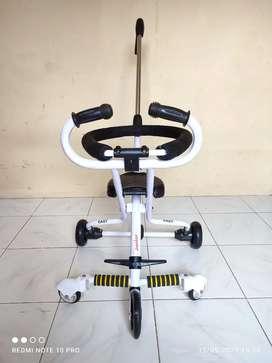 Stroller Junior Mini Trike (Alat Dorong Bayi & Anak Saat Jalan Jalan)