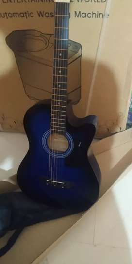 Guitar in good condition only two month old