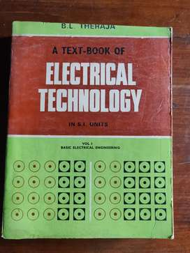 BL Theraja Electrical Technology Volume 1