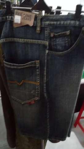 Obral celana jeans 3/4