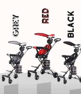 Exotic Stroller Lw121 harga 570.000 ada kanopi dan handle
