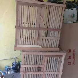 Kandang baru bambu jumbo