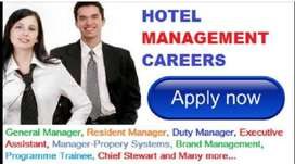 Freshers & Exp Needed Urgently For Hotel Mgmt