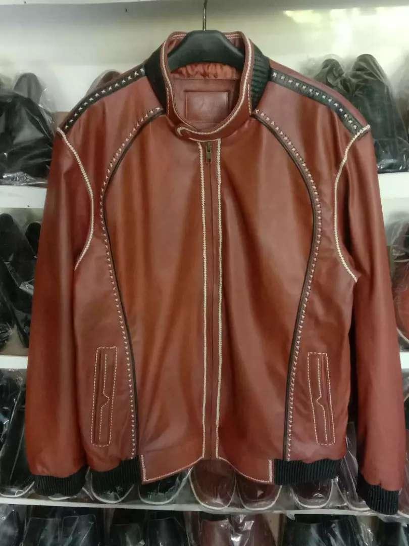 Jaket 100% kulit asli Garut
