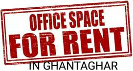 Space available on rent for office/godown purpose