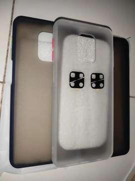 Paket case + pelindung kamera redmi note 9 pro