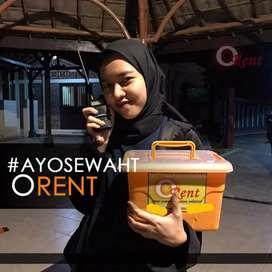 Sewa Rental HT TOA Proyektor Thermogun Semarang Raya