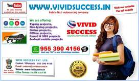 AWARD WINNING DATA ENTRY PROJECTS Available in India's No.1 Company