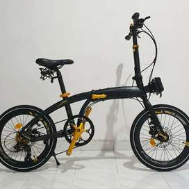 Sepeda Lipat Noris Pro Gold Edition New