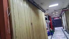 Rolling door folding gate