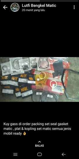 Packingset gearbox matic mobil