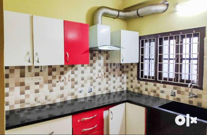 3 BHK Semi Furnished Flat for rent in Sri Ramnagar, Kondapur 0
